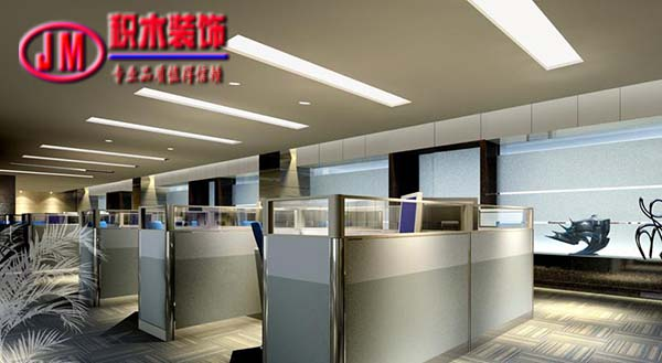 南京办公室装修木护墙