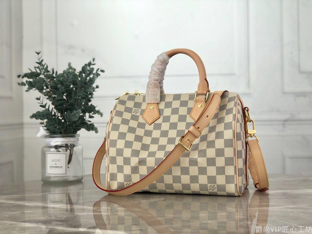 Speedy 白格枕头包,顶级品质到货 进口台湾面料手感柔软舒适