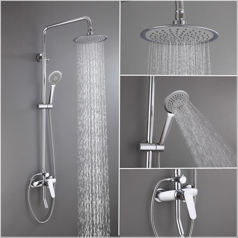 全铜家用浴室淋浴304不锈钢大花洒180211