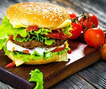让食客和快乐星汉堡谈一场恋爱