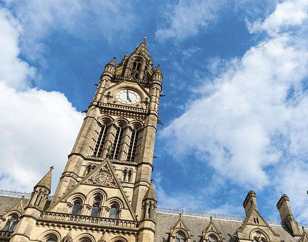 市政厅,曼彻斯特,英国
