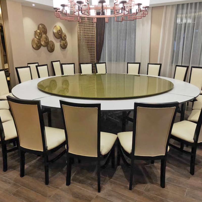 简易式饭店电动餐桌