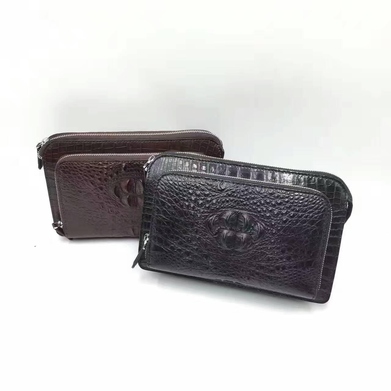 鳄鱼皮男士夾包sbinn0636