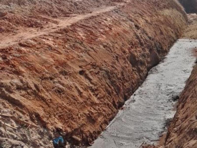 管道基础混凝土垫层