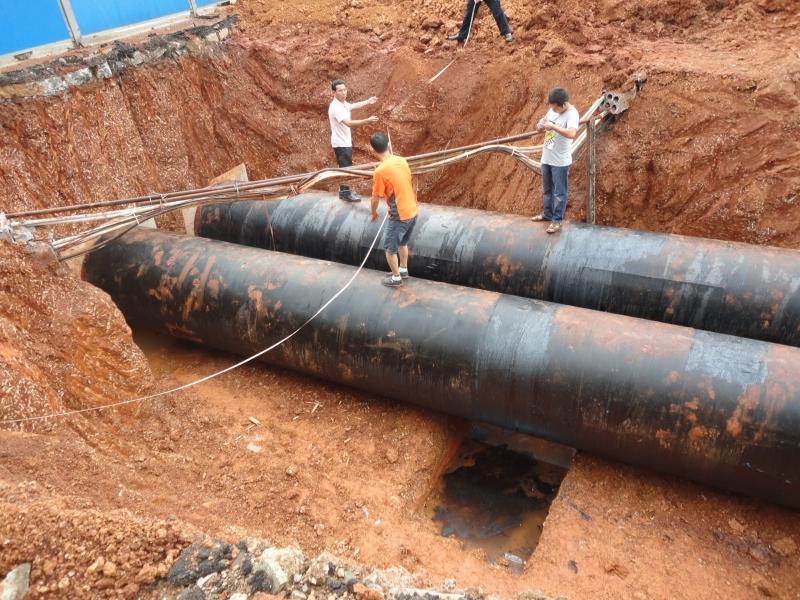 望城※水厂扩建DN1400钢』板管安装5000米