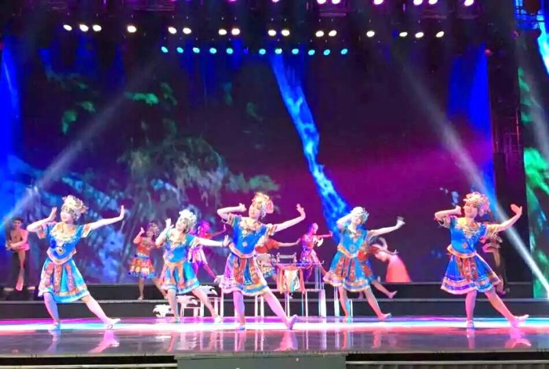 红太阳大剧院舞蹈演出
