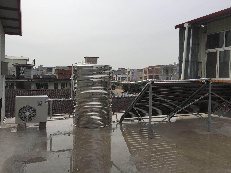 农家乐空气能热水工程