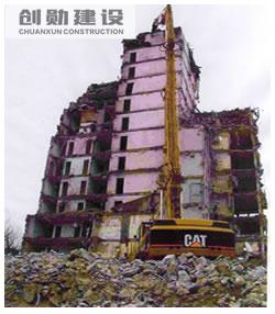 韓森寨城改拆除工程