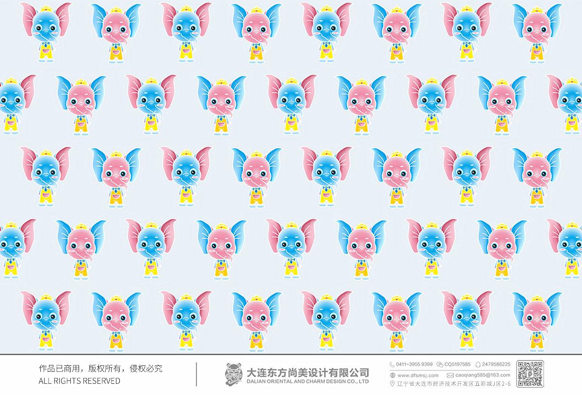 Elephant 卡通設計_卡通形象設計_吉祥物