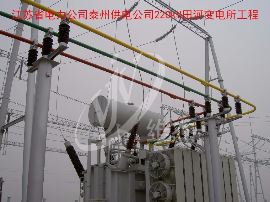 江苏省电力公司泰州供电公司220kV田河变电所工程