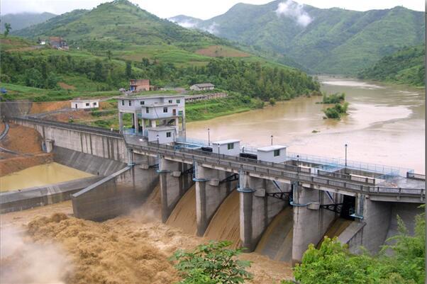 镇宁县翁元水电站