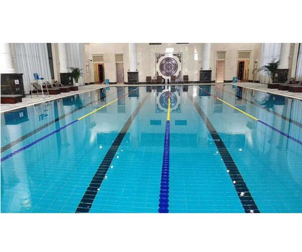 開封某高檔會所運動中心室內恒溫泳池項目