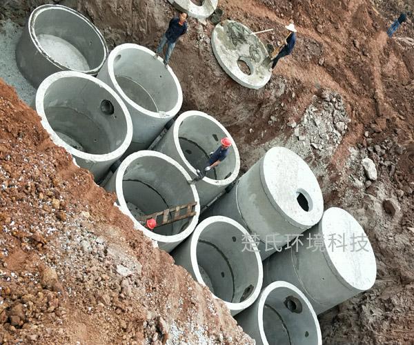 合肥美的工業園化糞池工程