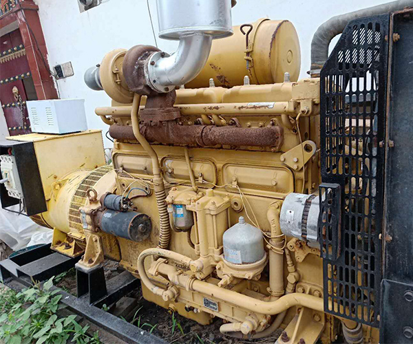 蚌埠客户发电机出租案例展示