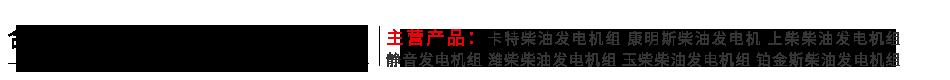 合肥发电机出租公司