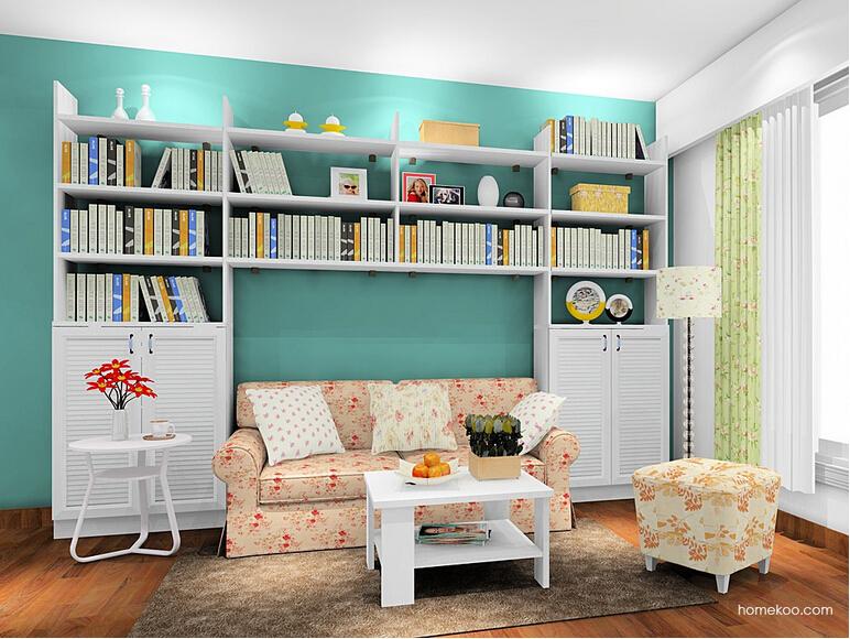 韩式田园书房家具
