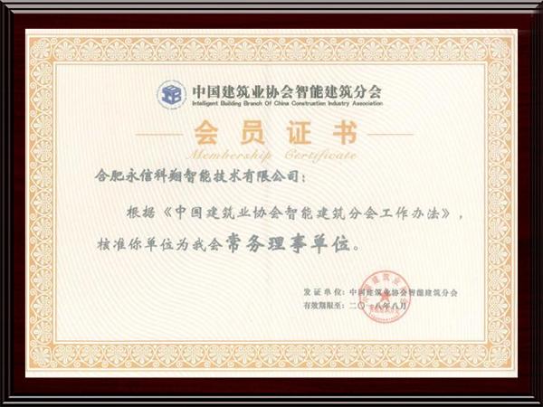 中国建筑业协会智能建筑分会常务理事单位