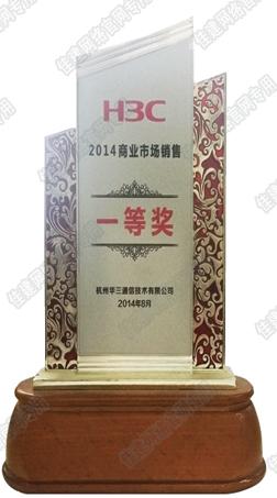 2014 H3C 商業市場銷售一等