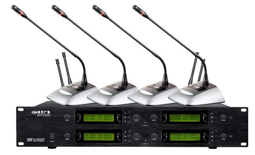 航天一拖八无线会议麦克风 HT-8188