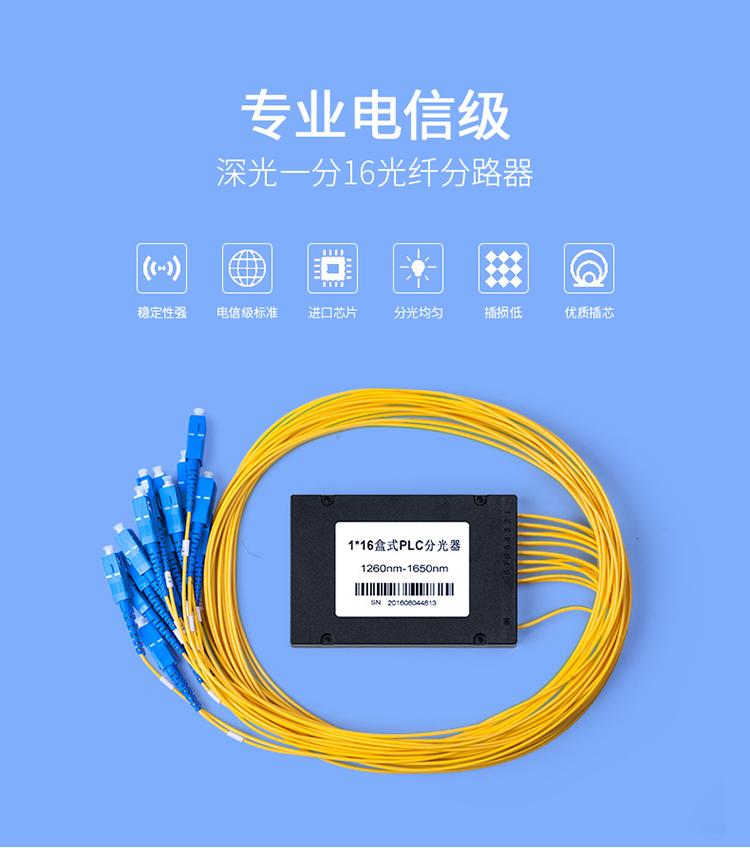 电信级光纤分路器