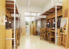 学生宿舍内景