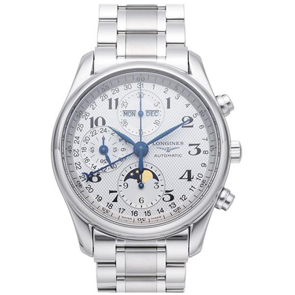【JF厂】浪琴名匠系列L2.673.4.78.3八针月相钢带手表