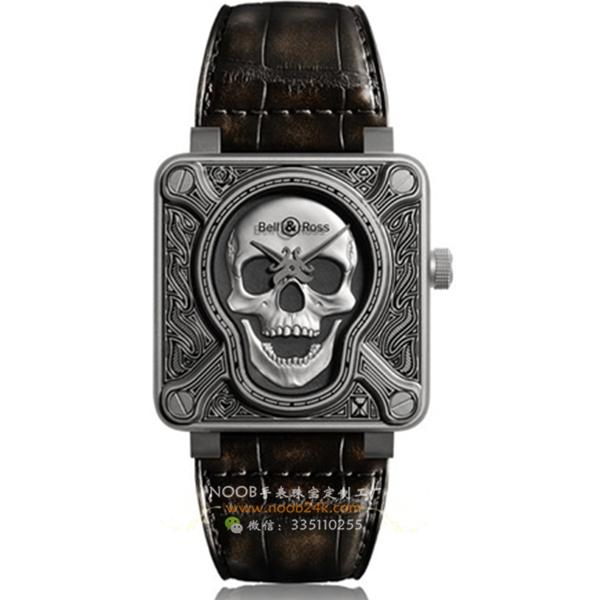 柏莱士柏莱士Burning Skull燃烧骷髅头Tattoo自动机械腕表