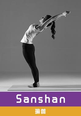 瑜伽导师  SHANSHAN
