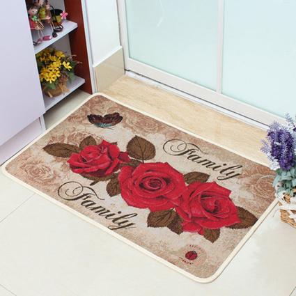门垫浴帘花型