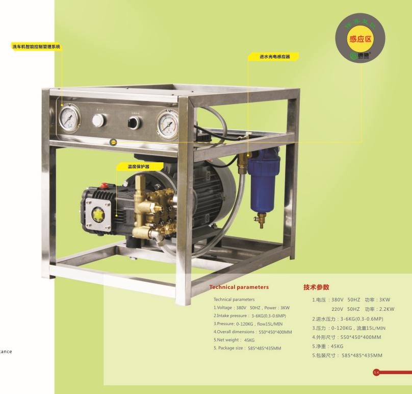 经济型高压洗车机