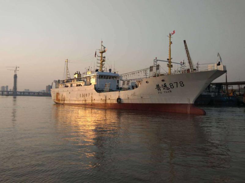 远洋渔业船(鱿钓船)