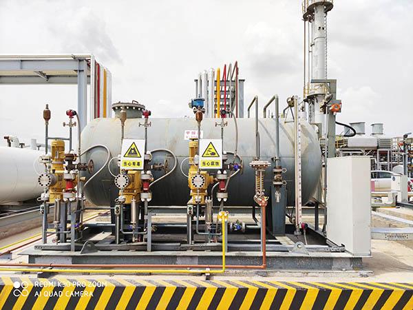 万豪天然气液化装置采用撬装化设计特点及组成