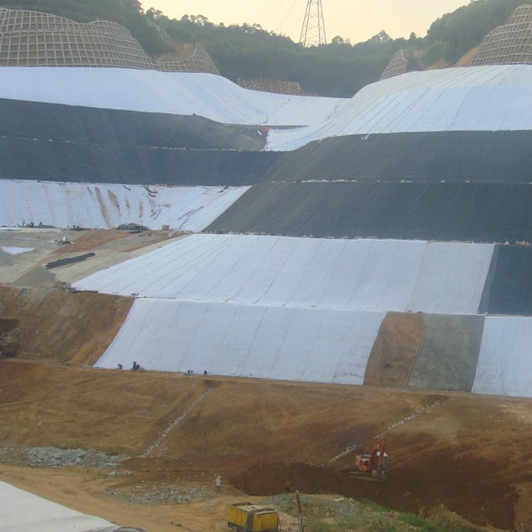 防滲土工膜用于垃圾填埋場防滲層