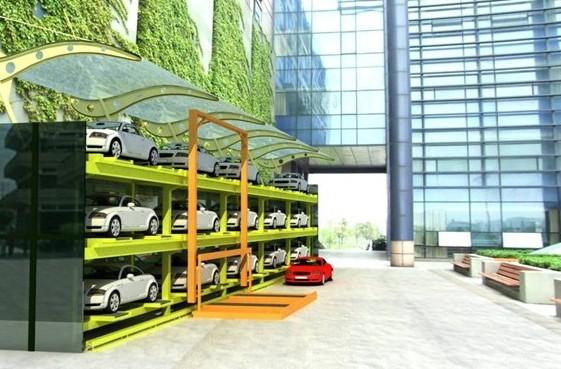 巷道堆垛類機械式停車設備