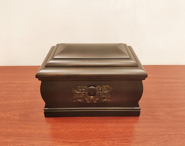 黑檀木寿盒
