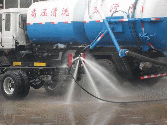 大型高压清洗车