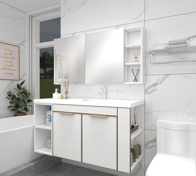 浴室镜柜怎么安装